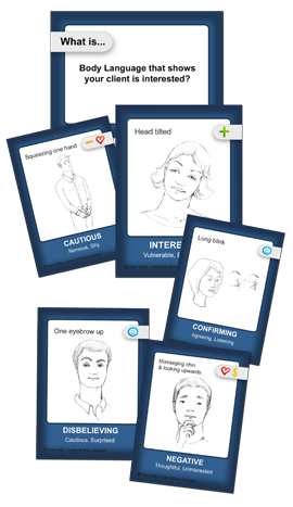 Body Language Cards